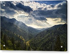 Drama In The Mountains Acrylic Print