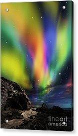 Dramatic Aurora Acrylic Print