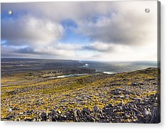 Dramatic Landscape Of The Aran Islands Acrylic Print by Mark Tisdale