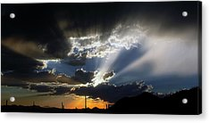 Dramatic Monsoon Sunset Acrylic Print