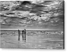 Dramatic Seascape Acrylic Print by Jay Harrison