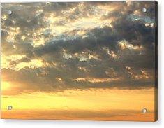 Dramatic Sunglow Acrylic Print by Deborah  Crew-Johnson