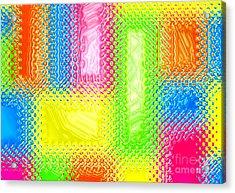 Drastic Plastic Acrylic Print