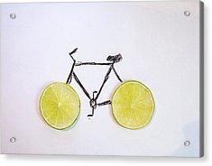 Drawing Of Bicycle Acrylic Print by Celine Nguyen / Eyeem