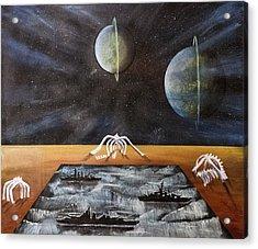 Dream 18 Acrylic Print by Cedric Chambers
