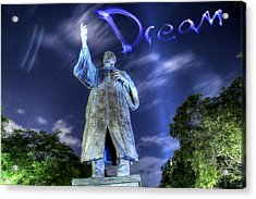 Dream Acrylic Print by Andrew Nourse