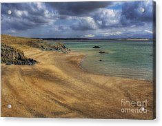 Dream Beach Acrylic Print by Ian Mitchell