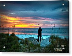 Acrylic Print featuring the photograph Dream Big Dreams In Color by Phil Mancuso