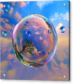 Dream Bubble Acrylic Print by Robin Moline