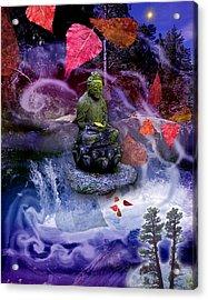 Dream Buddha Acrylic Print