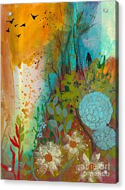 Dream Catcher Acrylic Print by Robin Maria Pedrero