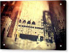 Dream City Acrylic Print by Susan Stone