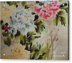 Dream  Flower 0727-4 Acrylic Print
