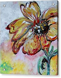 Dream Flower That Suits My Fancy Acrylic Print by Eloise Schneider