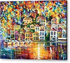 Dream Harbor Acrylic Print