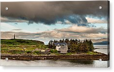 Acrylic Print featuring the photograph Dream House by Sergey Simanovsky