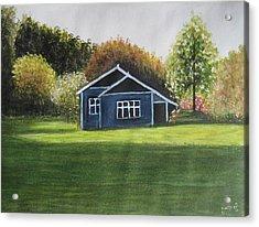 Dream House Acrylic Print by Usha Rai