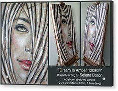 Dream In Amber 120809 Comp Acrylic Print