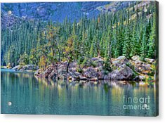 Dream Lake Acrylic Print by Kathleen Struckle