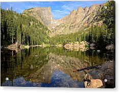 Dream Lake Reflection Acrylic Print