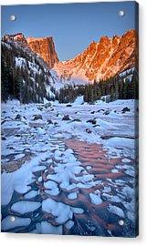 Dream Lake - Rocky Mountain National Park Acrylic Print by Ronda Kimbrow