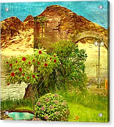 Dream Land Acrylic Print by Ally  White