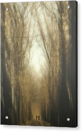 Dream Lane Acrylic Print