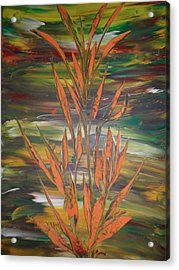 Acrylic Print featuring the painting Dream  by Nico Bielow