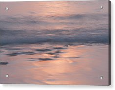 Dream Of A Sunset Acrylic Print by Georgia Fowler
