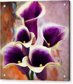 Dream Of Purple Acrylic Print