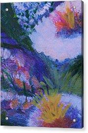 Dream Of Spring Acrylic Print by Anne-Elizabeth Whiteway