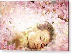 Dream Of Spring Acrylic Print by Gun Legler