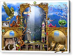 Dream On Acrylic Print by Colin Thompson