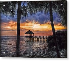 Acrylic Print featuring the photograph Dream Pier by Hanny Heim
