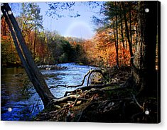 Dream River Acrylic Print by Mark Ashkenazi