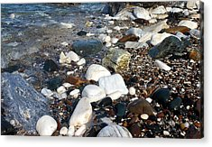Acrylic Print featuring the photograph Dream Rocks by Karen Horn