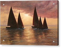 Dream Sails Acrylic Print