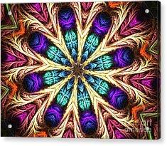Dream Star Acrylic Print by Fania Simon