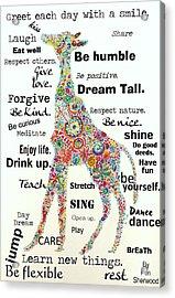 Dream Tall Acrylic Print by Janpen Sherwood