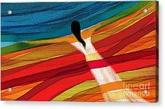 Dream Weaver Acrylic Print by Hilda Lechuga