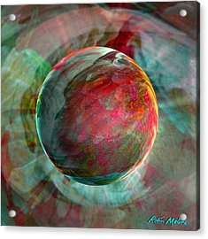 Dream Weaving Acrylic Print