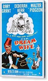 Dream Wife, Cary Grant Left, Deborah Acrylic Print by Everett