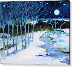 Dream Winter Acrylic Print