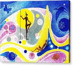 Dream World Acrylic Print by Hartmut Jager
