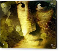 Dreambubbles And Sawteeths Acrylic Print by Gun Legler