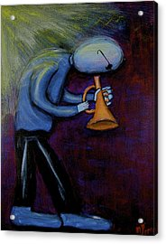 Dreamers 99-001 Acrylic Print by Mario Perron