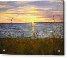Dreamers Sunrise Acrylic Print by Cheryl Damschen