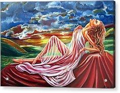 Dreamgirl  Acrylic Print