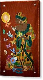Dreaming Butterflies Acrylic Print by Linda Egland