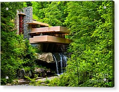 Dreaming Of Fallingwater 4 Acrylic Print by Rachel Cohen